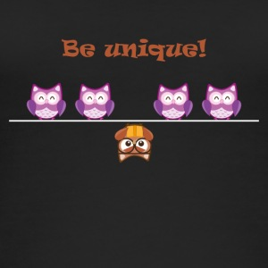 Unique OWL - Frauen Bio Tank Top