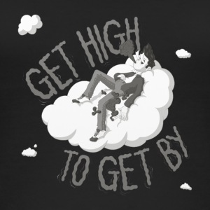 get high to get by - Vrouwen bio tank top