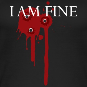 I am fine! funny! Carnival wound - Women's Organic Tank Top