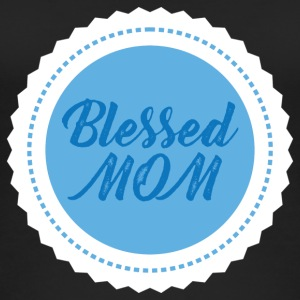 Muttertag: Blessed Mom - Frauen Bio Tank Top