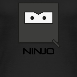 Ninja 'NINJO' Fighter Mask Qbik design series - Women's Organic Tank Top
