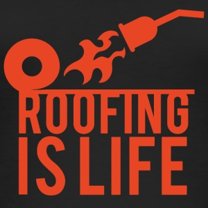 Roofing: Roofing Is Life. - Women's Organic Tank Top
