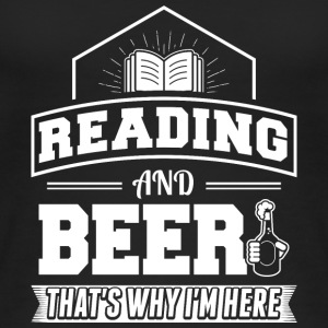 Reading AND BEER - Women's Organic Tank Top