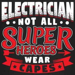 NOT ALL SUPERHEROES WEAR CAPES - ELECTRICIAN - Frauen Bio Tank Top