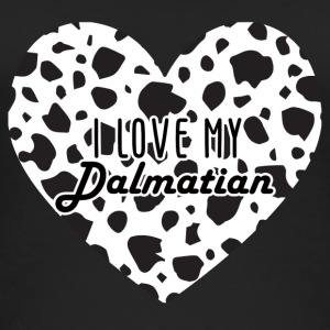 Dog / Dalmatian: I Love My Dalmatian. - Women's Organic Tank Top