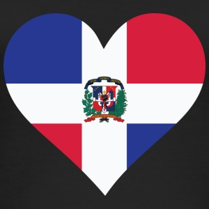 A Heart For The Dominican Republic - Women's Organic Tank Top