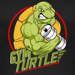 Gym Turtle Gym Design - Frauen Bio Tank Top