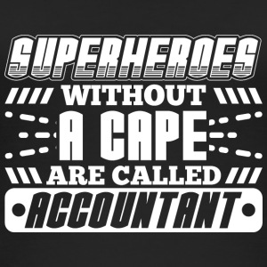 SUPERHEROES ACCOUNTANT - Women's Organic Tank Top