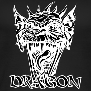 devil dragon black - Women's Organic Tank Top