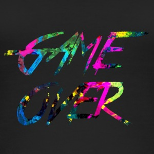 rainbow Game over - Women's Organic Tank Top