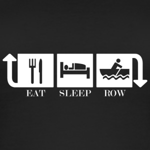 Eat Sleep Row Repeat - Ekologisk tanktopp dam