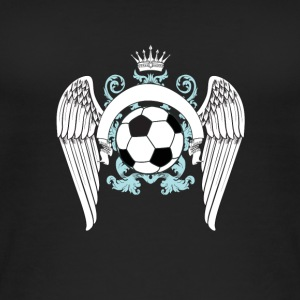 Soccer football goal champion winner engel king king - Women's Organic Tank Top