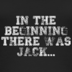 In The Beginning There Was Jack ... - Women's Organic Tank Top