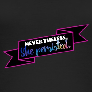 She persisted! - Frauen Bio Tank Top