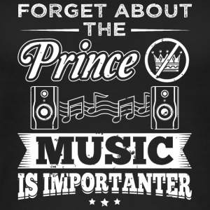 Music FORGET PRINCE - Women's Organic Tank Top