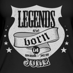 All legends born in June birthday gift - Women's Organic Tank Top