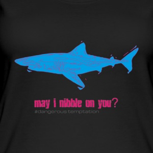 "Hungry Shark ""Posso sgranocchiare su di te?"" - Top da donna ecologico"