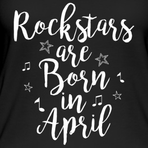 Rockstars are born in April - Women's Organic Tank Top