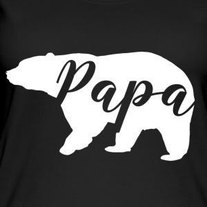 papa bear - Øko-singlet for kvinner