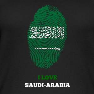 I Love Saudi-Arabia - Frauen Bio Tank Top