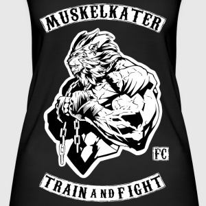 Muskelkater Fight Club - Train And Fight - Frauen Bio Tank Top