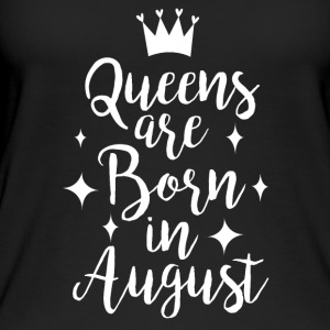 Queens are born in August - Women's Organic Tank Top