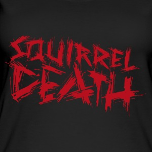 SQUIRREL DEATH - Logo rot - Frauen Bio Tank Top