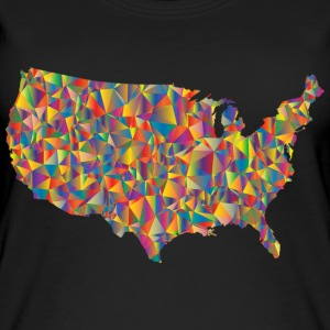 COLORFULL AMERICA - Top da donna ecologico