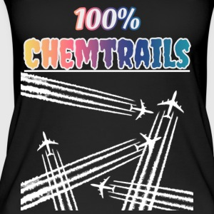 100 Chemtrails - Not Contrails - Women's Organic Tank Top