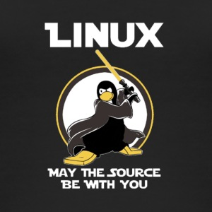 may_the_linux_source - Frauen Bio Tank Top