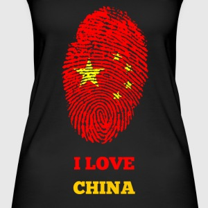 I LOVE CHINA - Naisten luomutoppi