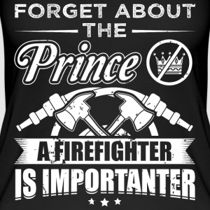 Firefighter FORGET PRINCE - Women's Organic Tank Top