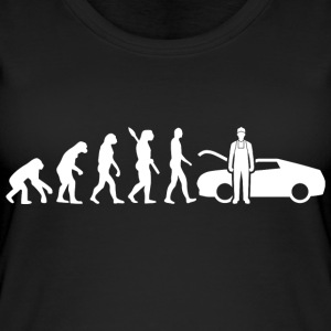 Evolution Mechanic Mechanic White - Women's Organic Tank Top