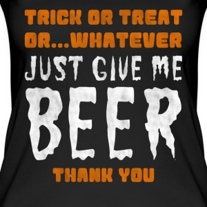 Billigt halloween alternativ: beer Shirt - Øko tank top til damer