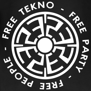 free tekno free party free people - Frauen Bio Tank Top