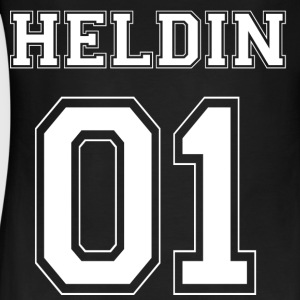 HELDIN 01 White Edition - Frauen Bio Tank Top