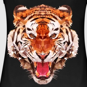 Tiger niedrig - Frauen Bio Tank Top