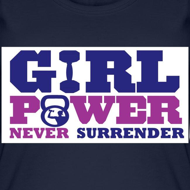 GIRL POWER NEVER surrender 01
