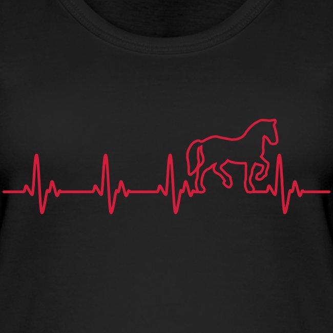 Vorschau: Horse Heartbeat - Frauen Bio Tank Top von Stanley & Stella