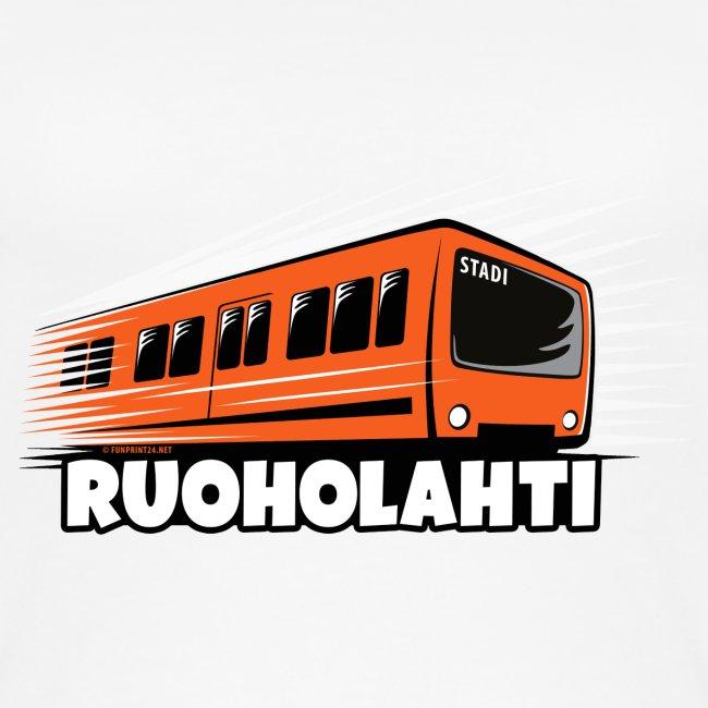 17 - METRO RUOHOLAHTI - HELSINKI - LAHJATAVARAT