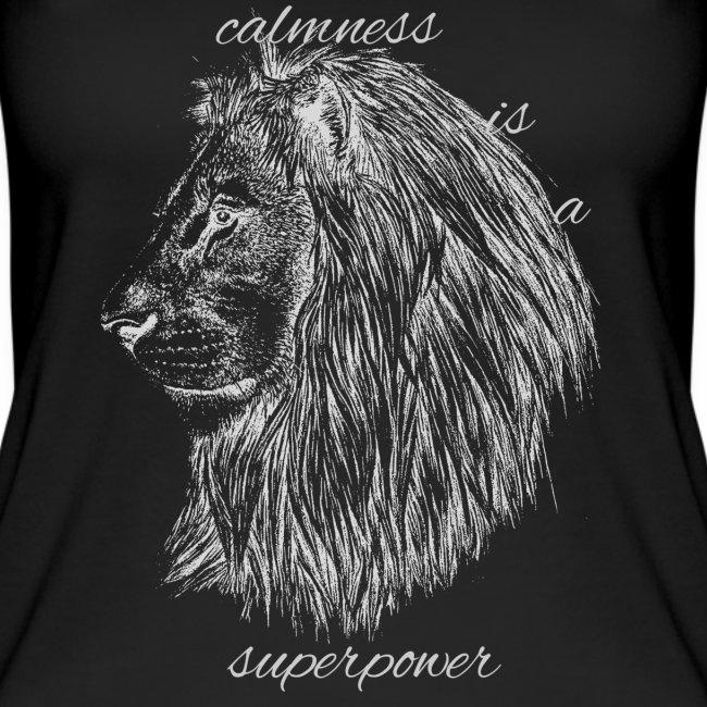Calmness is a superpower