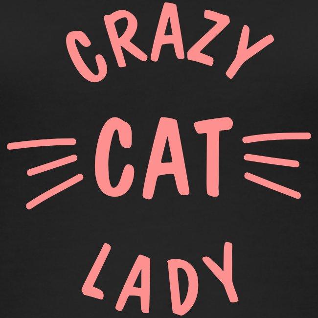 Vorschau: Crazy Cat Lady meow - Frauen Bio Tank Top von Stanley & Stella