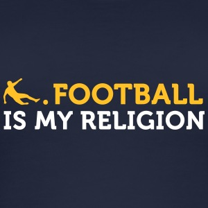 Football Quotes: Soccer Is My Religion - Women's Organic Tank Top
