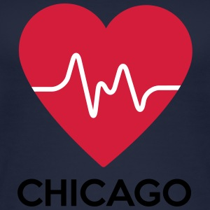 cuore di Chicago - Top da donna ecologico