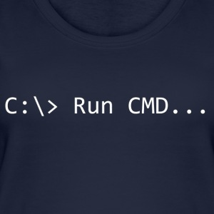 Run CMD Prompt - Top da donna ecologico