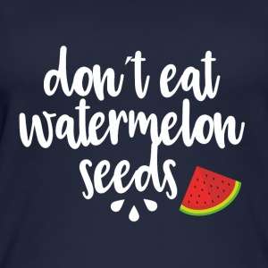 Dont eat watermelon seeds - white - Women's Organic Tank Top