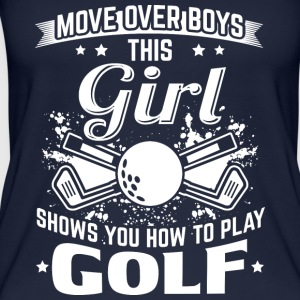 golf MOVE OVER boys - Vrouwen bio tank top