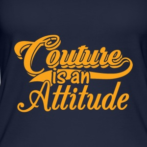 Couture is an Attitude - Gold - Women's Organic Tank Top