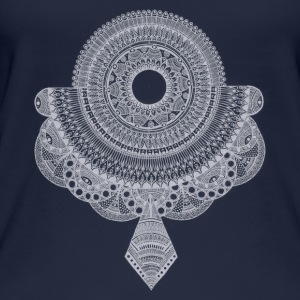 Mandala white - Women's Organic Tank Top