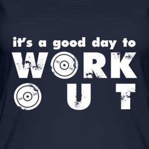 It's a good day to workout - Women's Organic Tank Top